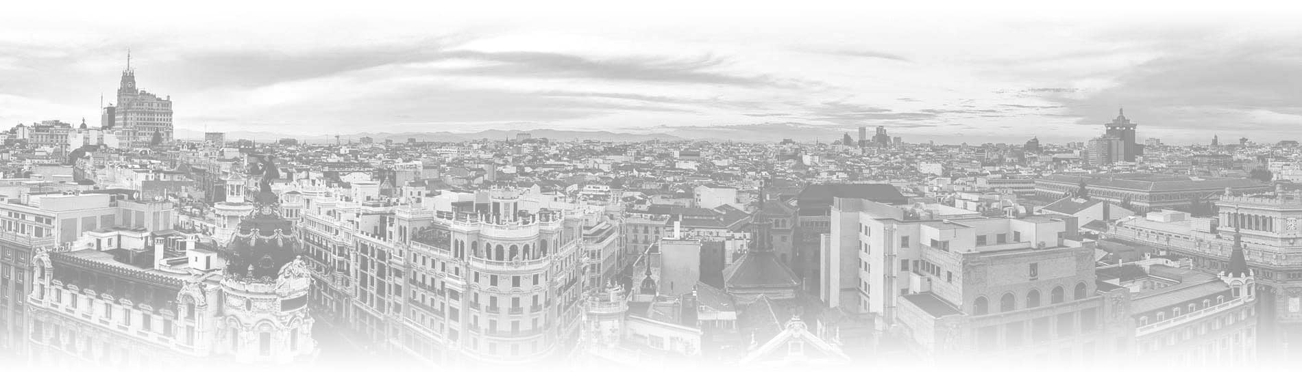 Panoramic of Madrid